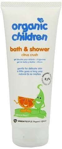 Green People Organic Children Bath & Shower - Citrus & Aloe Vera (200ml)