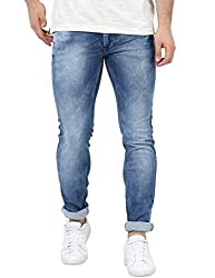 Monte Carlo Blue Skinny Fit Denim
