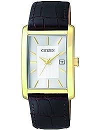 Citizen Herren-Armbanduhr Analog Quarz Leder BH1673-09A