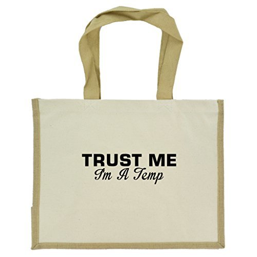trust-me-im-a-temp-in-black-print-jute-large-shopping-bag-with-beige-handles-and-trim