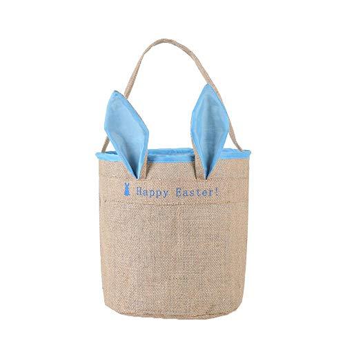 orb - Ostern Kaninchen Korb, Hasenohren Taschen, Personalisierte Eier Körbe Taschen Für Kinder Mit Geschenken Und Täglichen Gebrauch ()