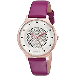 Johan Eric Women's JE1600-09-001.12 Orstead Analog Display Japanese Quartz Purple Watch