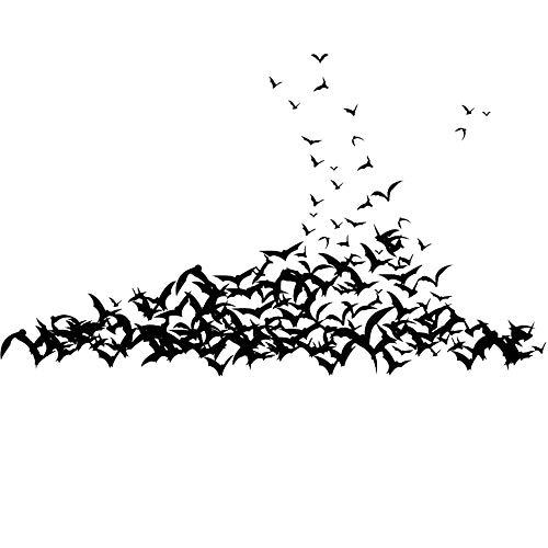 JUNMAONO Bat Schläger Wandaufkleber Wandgemälde Wand Poster Wandbild Aufkleber Wandbilder Wandtattoo Pinupbild Beschriftung Pad einfügen Tapete Tapezieren Tapeten Wand Zeitung Wandmalerei -