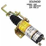 cnspeed combustible apagado válvula de solenoide 150212V combustible apagado apagado solenold lister petter lpw lpws lpwt Motor genset