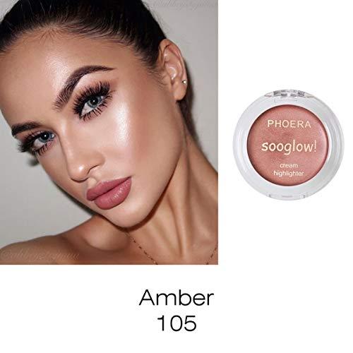 Crème Surligneur Maquillage Surligneur Crème Correcteur Shimmer Face Glow Bronze Ultra-concentré