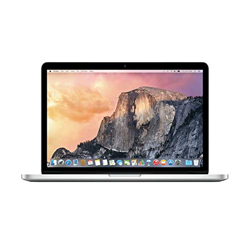 "Apple MacBook PRO Retina 13"" ME864LL/A/Intel Core i5 2.4 GHz/RAM 8 GB / 250 GB SSD/Tastiera QWERTY us (Ricondizionato)"