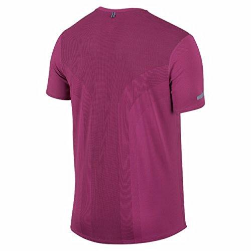 NIKE t-shirt à manches courtes pour femme dri-fit contour Cosmic Purple/Purple