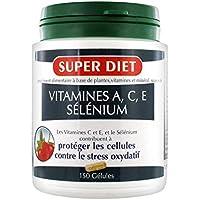 Super diet - Sélénium vitamines a.c.e. - 120 comprimés - La jeunesse de la peau