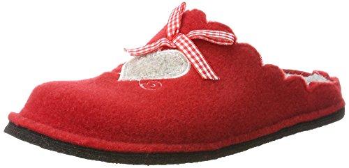 Supersoft Damen 522 226 Pantoffeln, Rot (Red), 39 EU