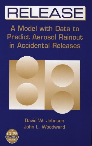 Release: A Model with Data to Predict Aerosol Rainout in Accidental Releases [With CDROM] (Ccps Concept Book)