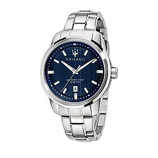 Reloj para Hombre, Colección Successo, con Movimiento de Cuarzo y función Solo Tiempo con Calendario, en Acero – R8853121004