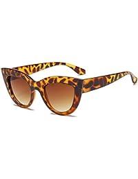 Lunettes de Soleil Femmes UV400 luxe Oversized Cat Eye lunettes de soleil  mode Vintage Style lunettes c1c6a43c615e