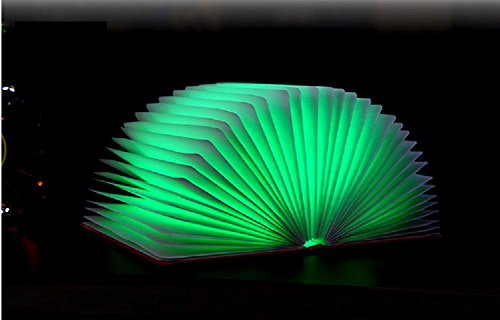 Preisvergleich Produktbild GTB Faltbare Book Style Led Beleuchtung Tabel / Stimmung / Nachtlichter warmes Licht , blue