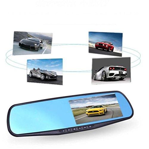 TPulling Cam Rückspiegel Full HD 1080P 2.8 Video Recorder Dash Auto Kamera DVR