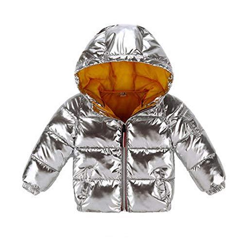 QJKai Herbst und Winter Kinder warme Daunenjacke Baumwolle Raumanzug Kinder Baumwollkleidung ()