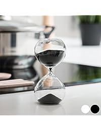 RELOJ DE ARENA TIMER (8 MINUTOS) (Negro)