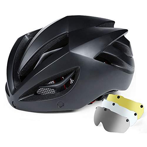 Lbyhning Fahrradhelm, Einstellbarer Sicherheitsschutz Leichter Fahrradhelm für Fahrradfahren BMX Scooter Fahrradhelm
