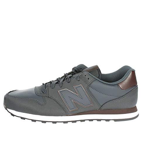 459f30e5a6 New Balance 500, Scarpe Sportive Uomo, Marrone (Dark Brown/Navy Dbn ...