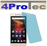 4ProTec 2 Stück GEHÄRTETE ANTIREFLEX Bildschirmschutzfolie für Leeco Le S3 Displayschutzfolie Schutzhülle Bildschirmschutz Bildschirmfolie Folie