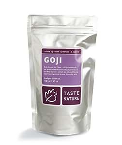 Taste Nature Goji Beeren, 1er Pack (1 x 150 g Packung)