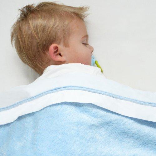 Imagen 2 de Baby's Only 453220 - Sábana, color azul [tamaño: 150x120cm]
