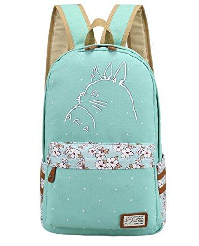 YOYOSHome Tagesrucksack, Schultasche, Laptop-Tasche, japanisches Anime/ Cosplay My Neighbor Totoro