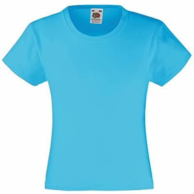 Fruit Of The Loom Girl's SS079B Short Sleeve T-Shirt - cheap UK light shop.