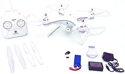 Ninco Drone radiocontrol con cámara STRATUS WIFI GPS. Control inteligente de orientacion y retorno automatico a la posición del piloto.