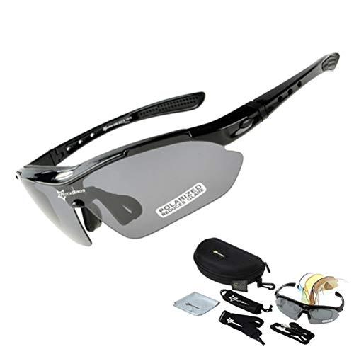 Unisex-Radbrille Winddicht Staubdicht Sanddicht UV-Schutz Polarisierte Outdoor Sports Bike Motorrad Sonnenbrille
