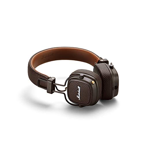 Marshall Major III Bluetooth Wireless On-Ear Headphones (Brown) Image 2