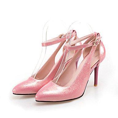 LvYuan Sandali-Ufficio e lavoro Formale Casual-Altro-A stiletto-PU (Poliuretano)-Nero Verde Rosa Pink