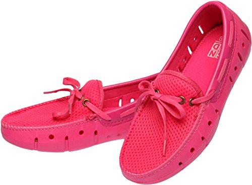 Snrdsn202 - Sandalias Con Cuña De Mujer Rosa (rosa)