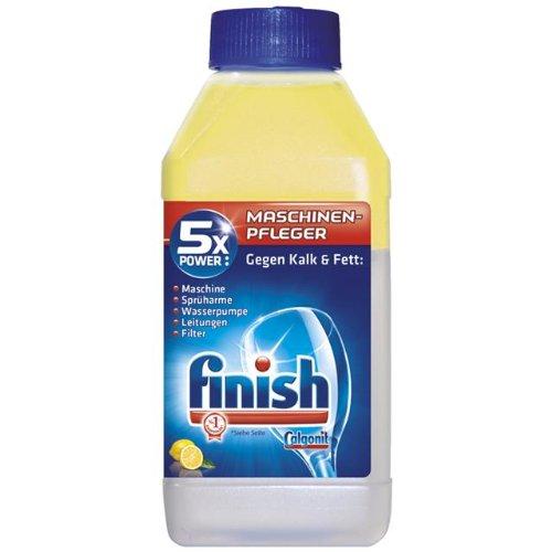 Finish Calgonit Maschinenpfleger Citrus 5xPower, Spülmaschinenreiniger (6 x 250 ml)