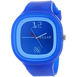 "RADAR Watches Unisex AGDKB-0002 ""The Agent"" Blue Watch"