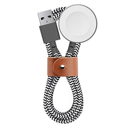 NATIVE UNION BELT Watch Cable Cavo di Ricarica per Apple Watch - Cavo di ricarica per Apple Watch da 120 cm [Certificato Apple MFi]