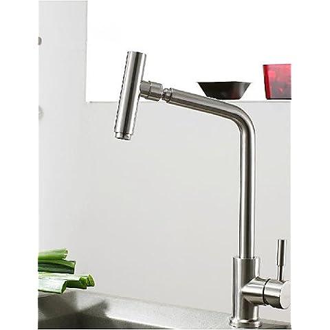 Grifo ZSQ 304 Acero Inoxidable libre de plomo el grifo de la cocina fría y caliente Filtro de agua potable de los grifos grifo agua purificada Boquilla #711.