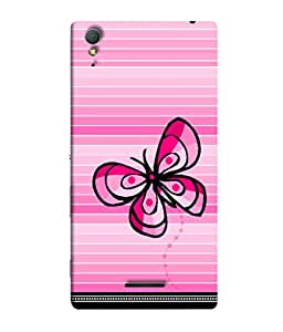 Snapdilla Designer Back Case Cover for Sony Xperia T3 (Pattern Wallpaper Background Backcover Design)
