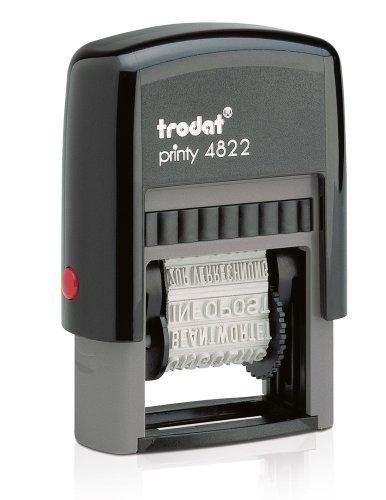 Wortbanddrehstempel EcoPrinty 4822, Schrifthöhe 4mm