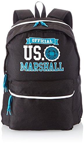 us-marshall-sac-a-dos-enfants-sac-a-dos-avec-2-compartiments-45-cm-noir-blanc