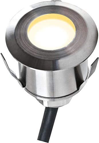 EVN Lichttechnik LED-Einbauleuchte P67 101002 12VDC 1W ww Bodeneinbauleuchte 4037293404242