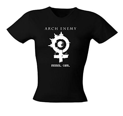 Arch Enemy Rebel Girly T-Shirt Schwarz