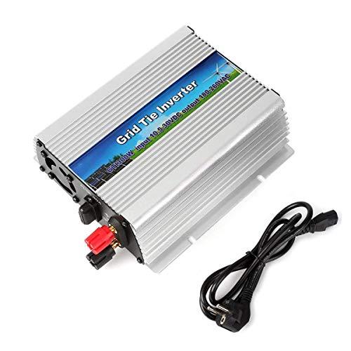 Grid Tie (GreenSun LED Lighting 300W Grid Tie Wechselrichter reiner Sinus Spannungswandler mit MPPT Rasterfeld Riegel Inverter DC 10.5-30V auf AC 180-260V für Solar System)
