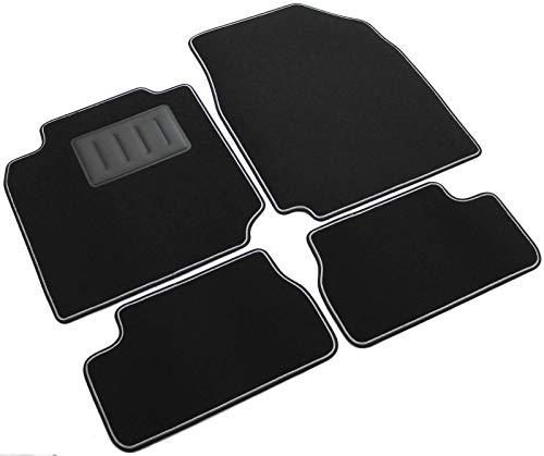 Auto et Moto Deflecteurs dair déflecteurs de Vent Compatible avec Nissan Micra K12 2002-2010 4 pièces Accessoires auto J&J AUTOMOTIVE