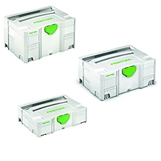 Festool Systainer Werkzeugkoffer - T-Loc SYS1 / SYS2 / SYS3-497563 - 497564-497565