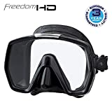 Tusa Freedom HD - tauchmaske schnorchelmaske erwachsene profi - silikon schwarz