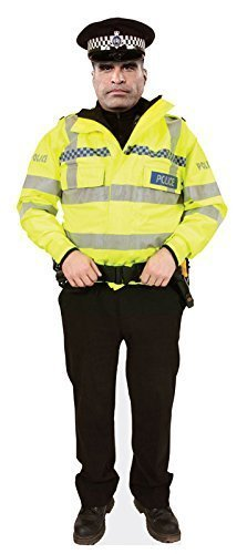 Police Constable Cardboard Cutout  4 different designs   Standee  Stand Up   PC Dixon