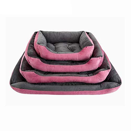 Pet Nest Dog Bett Sofa wasserdicht Fleece Katze Bett Hund matratze Faule Couch pad pet Bett Kennel,50 * 40 * 15CM