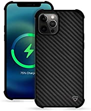 RAEGR iPhone 12 Pro Max MagFix Magnetic Case & Elements Armor Case, Supports Mag-Safe Wireless Charging, C