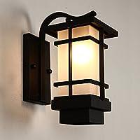 BOOTU lámpara LED y luces de pared Luces de pared exterior impermeable al aire libre plancha