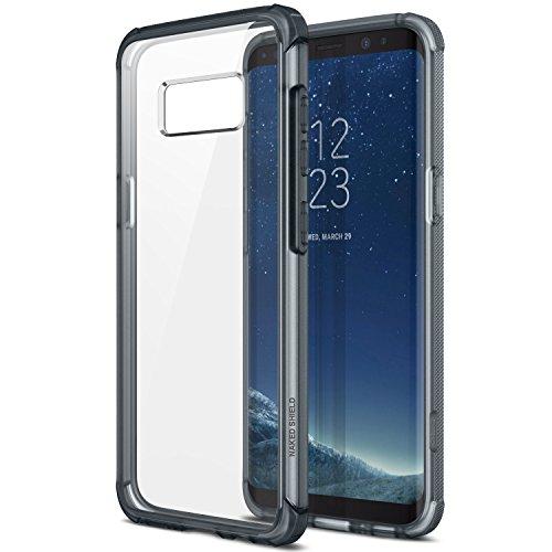 Obliq Galaxy S8 Plus Hülle, [Naked Shield] mit klaren stoßfestem Schutz TPU Bumper für Samsung Galaxy S8 Plus (2017) (Smokey Navy)
